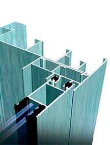 imagen de un sistema de corredera euronova 60