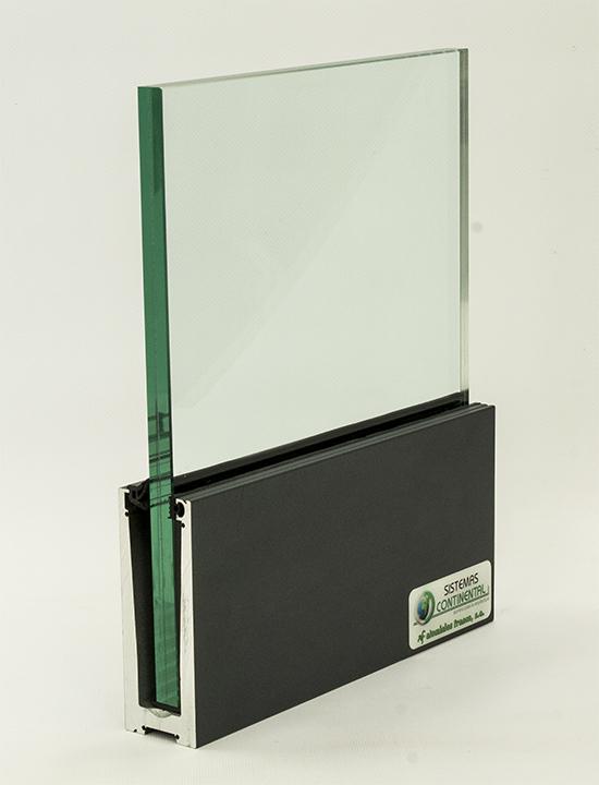 imagen railing-glass barandilla de aluminio y cristal