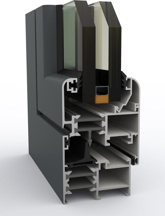 imagen de un sistema abatible 54-61 rpt hc